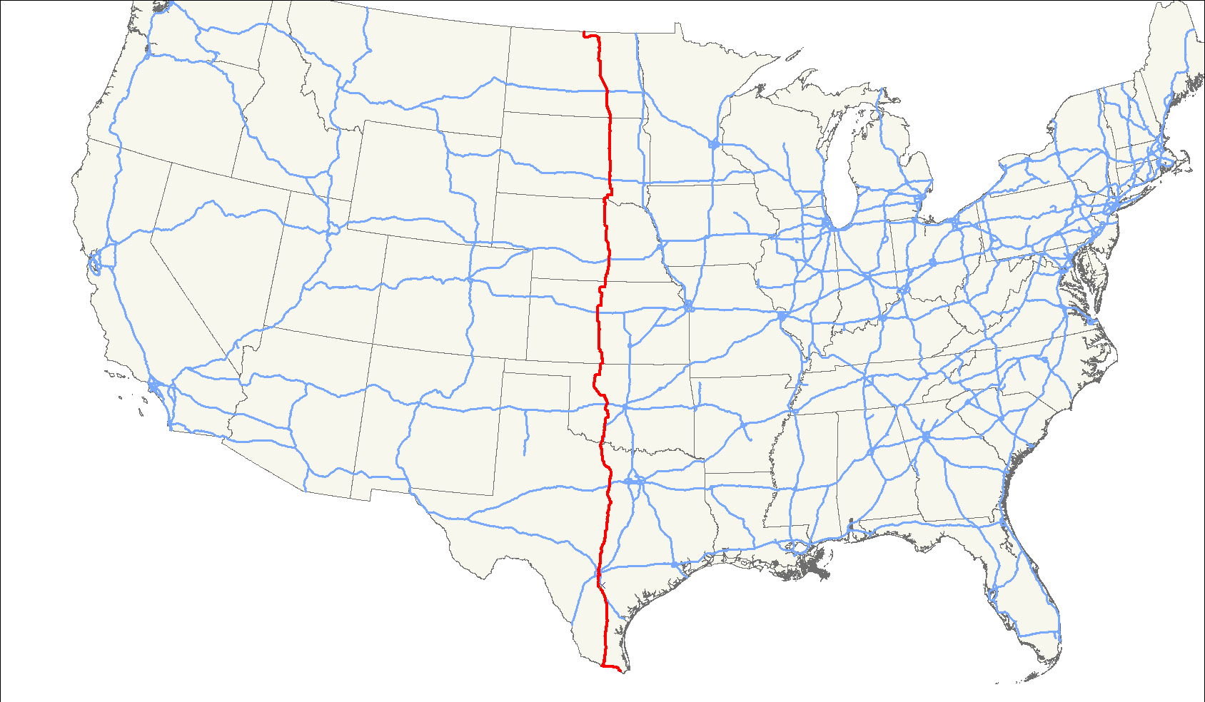 US Route Wikiwand - Kansas map us