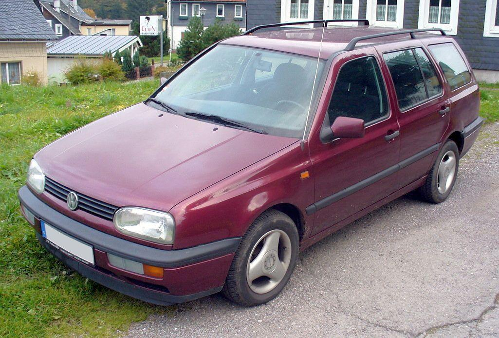 VW GOLF 111 VARIANT - Fotos de coches - Zcoches