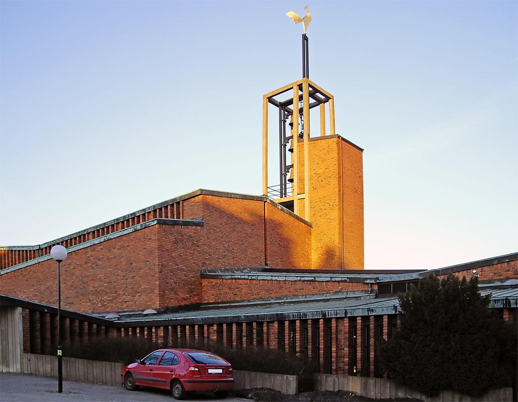 Bild av Vantörs kyrka