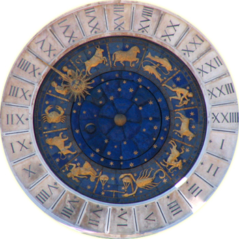Astrological Clock in Venice