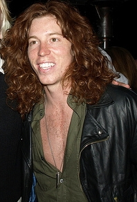 Shaun White at the Virgin America OC Launch.
