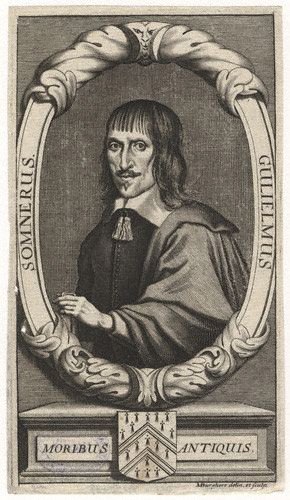 William Somner, 1693 engraving by [[Michael Burghers