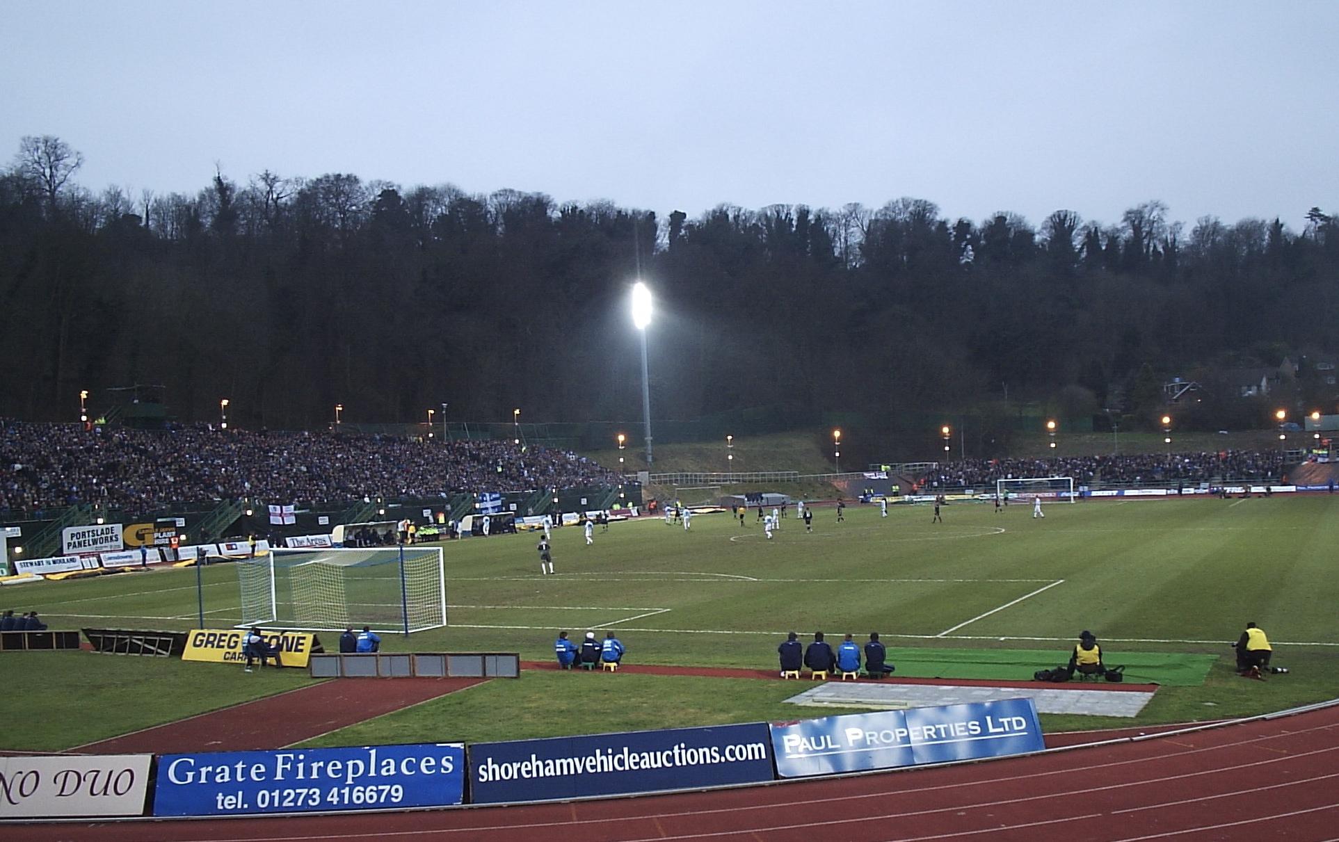 Withdean Stadium - Wikipedia