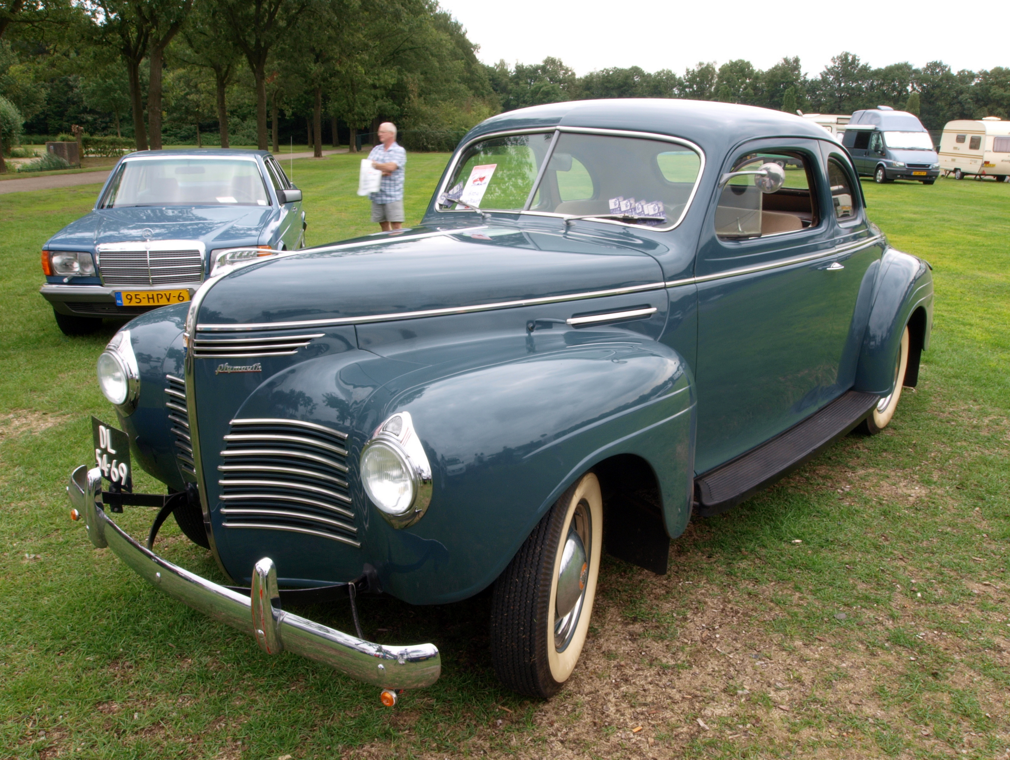 File 1941 Plymouth D1 P10 Dutch Licence Registration Dl