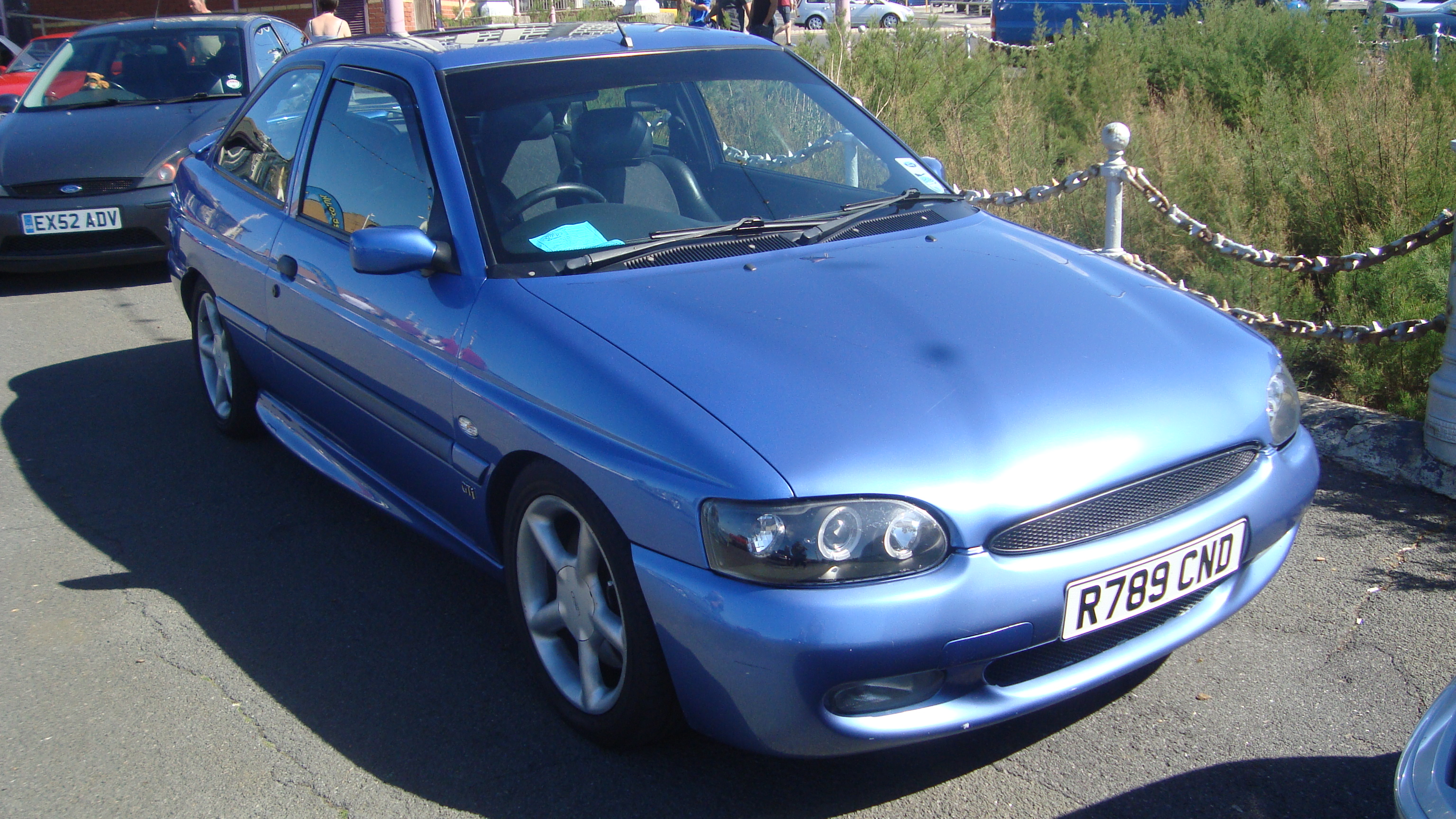 Modified ford escort gti
