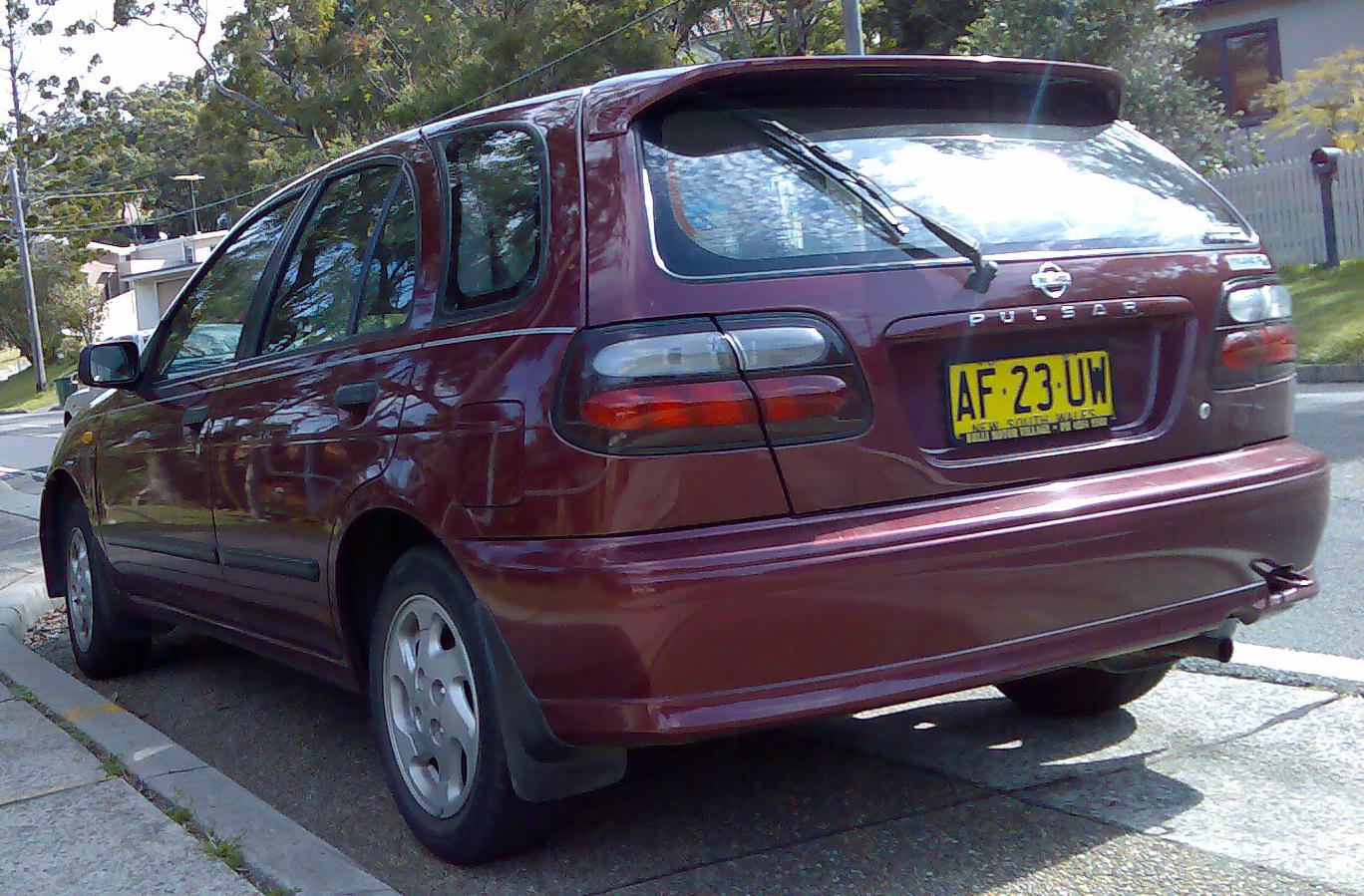 File 1999 2000 Nissan Pulsar N15 S2 Plus Lx 5 Door