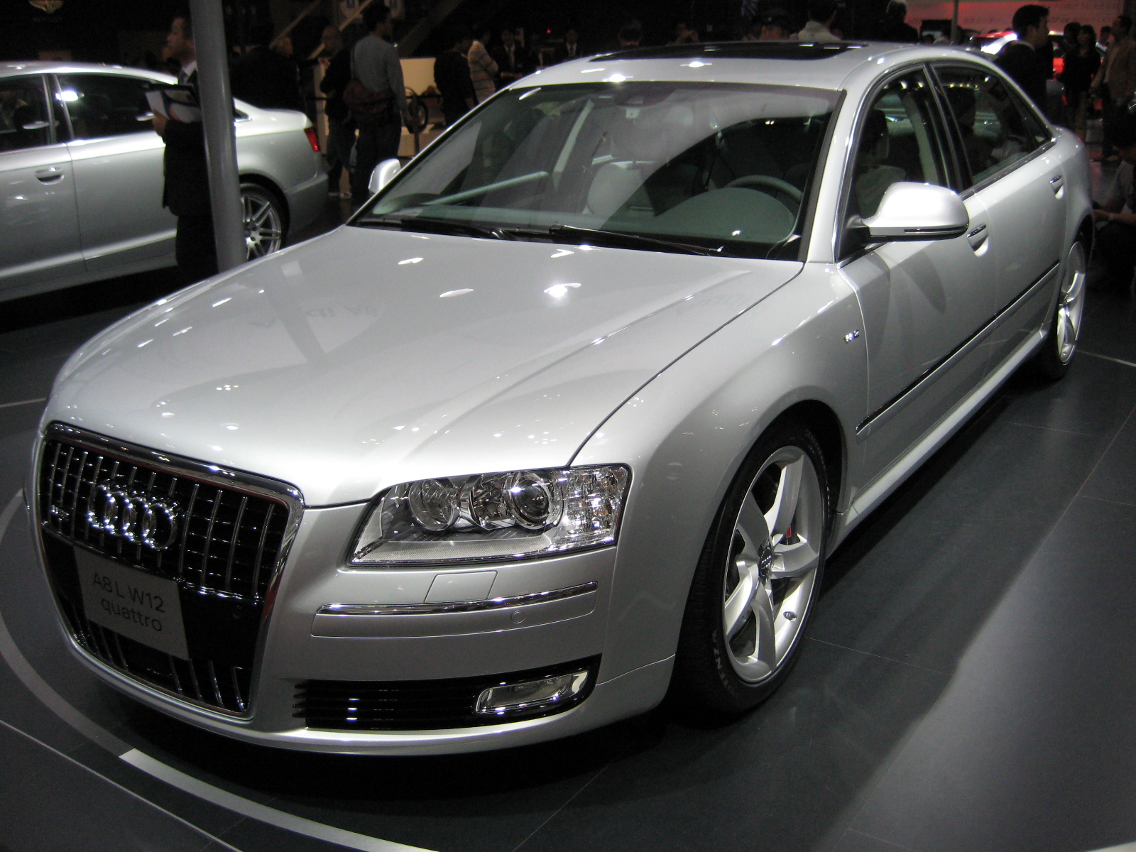 File 2007 Audi A8 L Jpg Wikimedia Commons