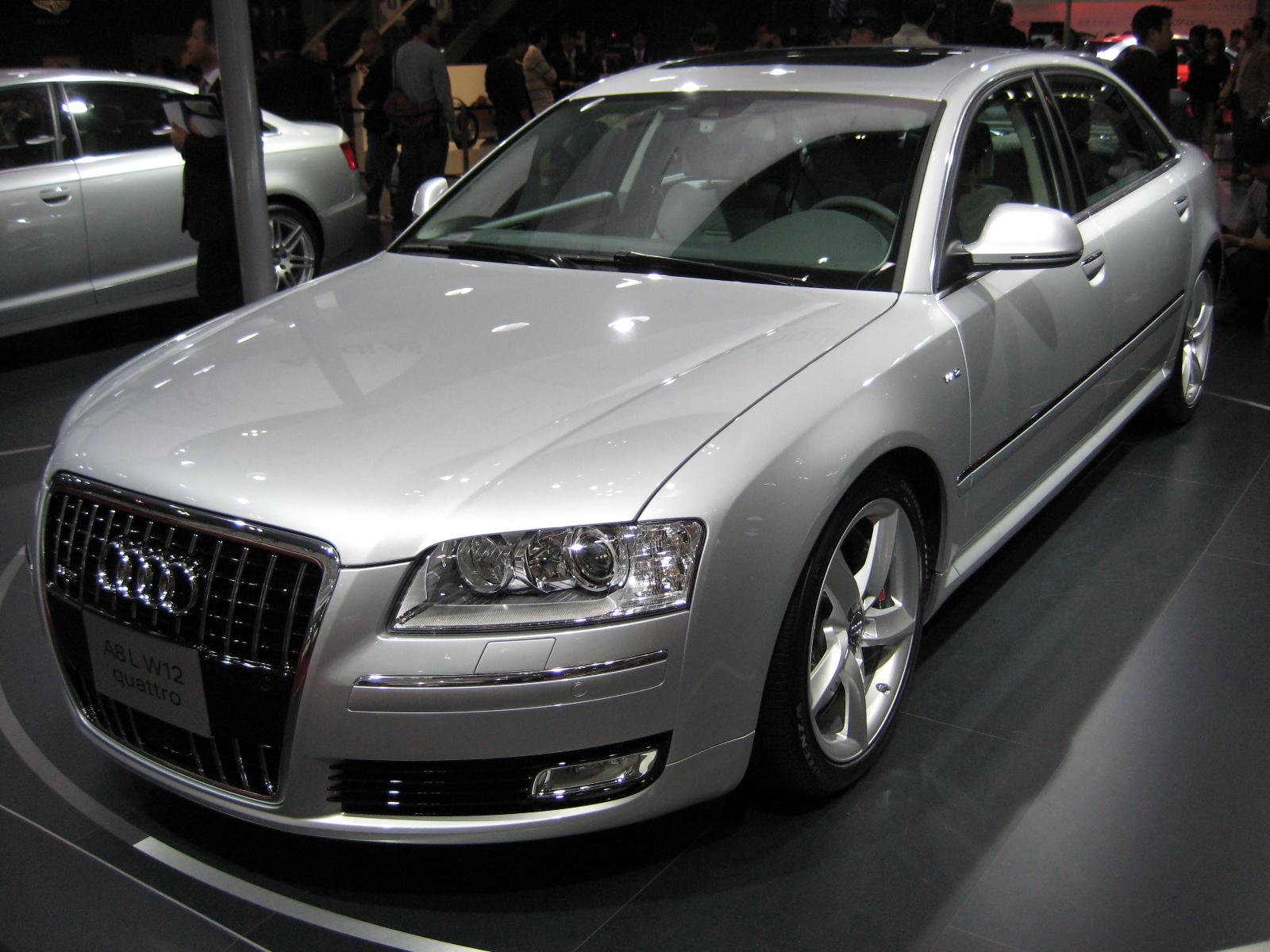 Restr 2007 Audi A8 L Jpg Wikipedia
