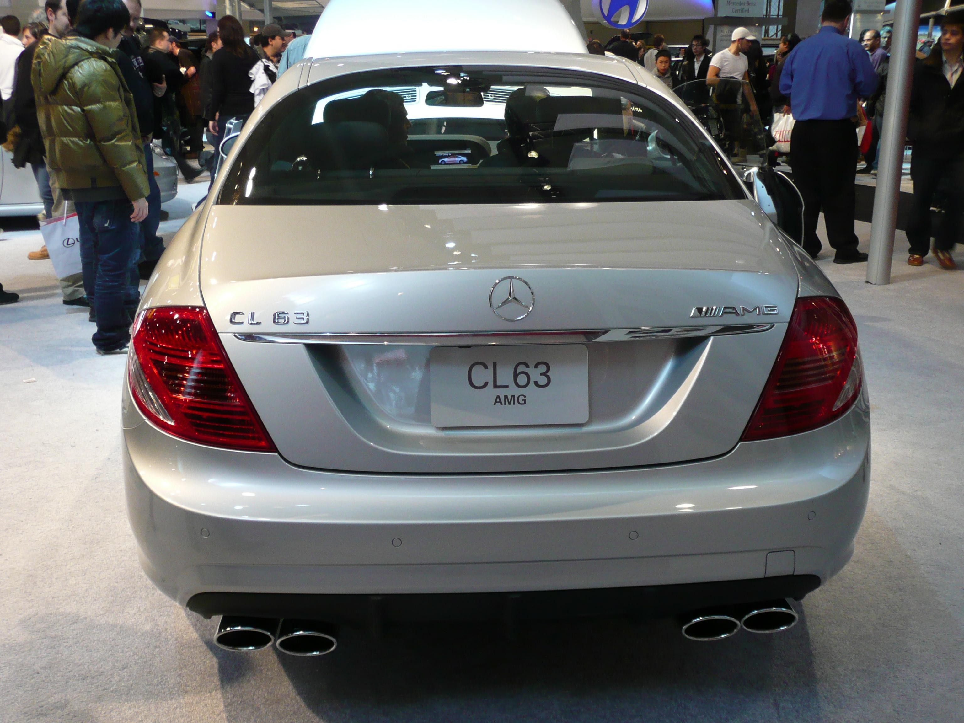 MercedesBenz CL63 AMG