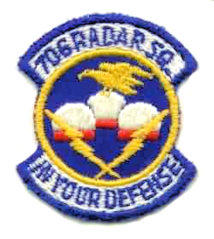Emblem of the 706th Radar Squadron