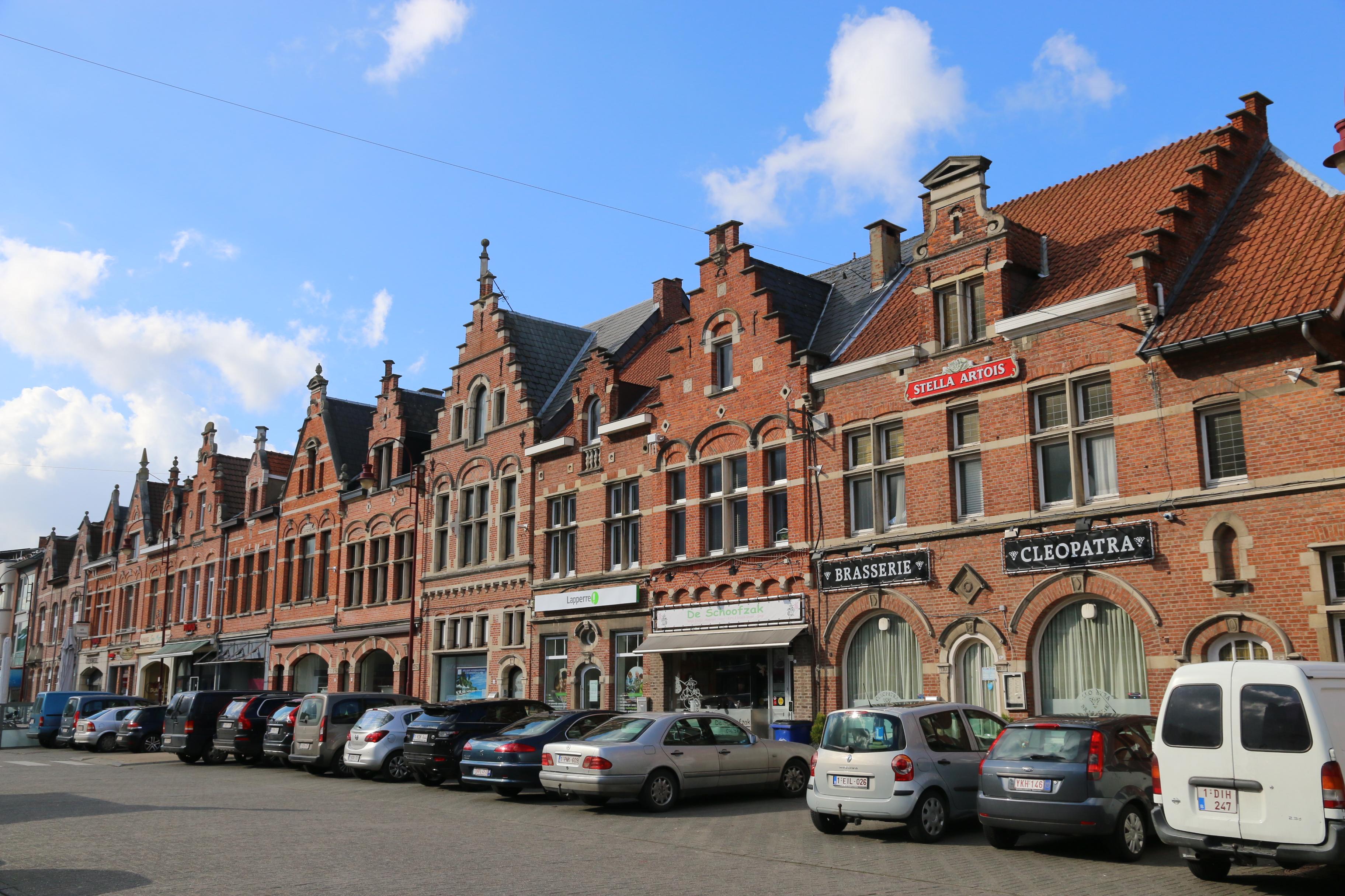 File Aarschot Geheel Van Wederopbouwwoningen Leuvensestr Jpg