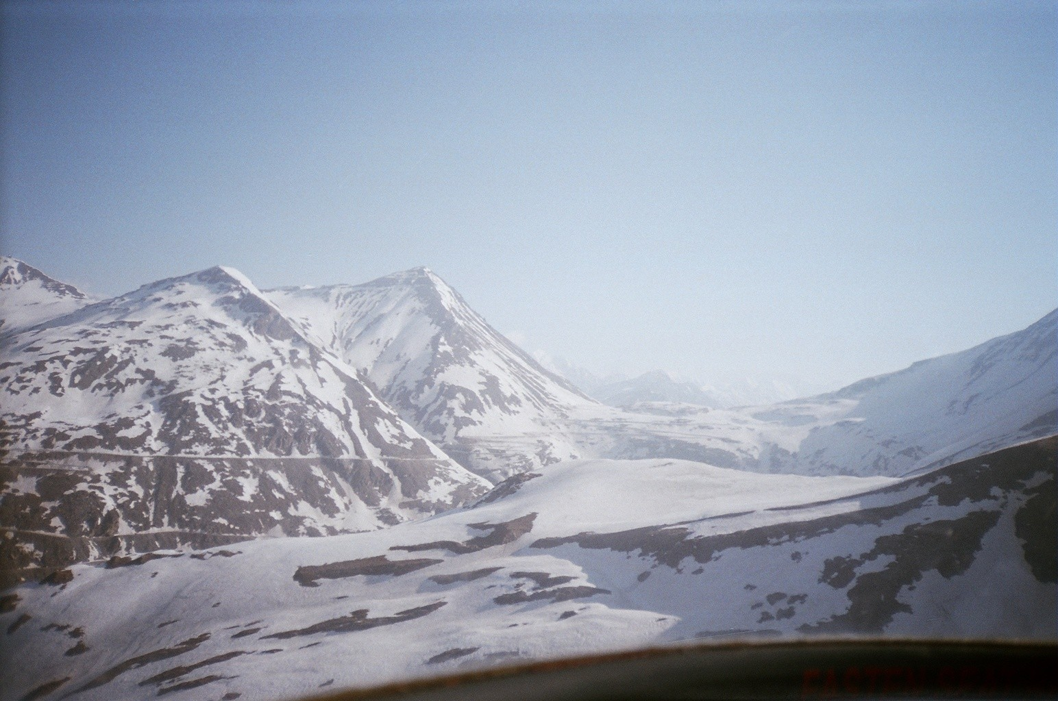 Lahaul valley in winter