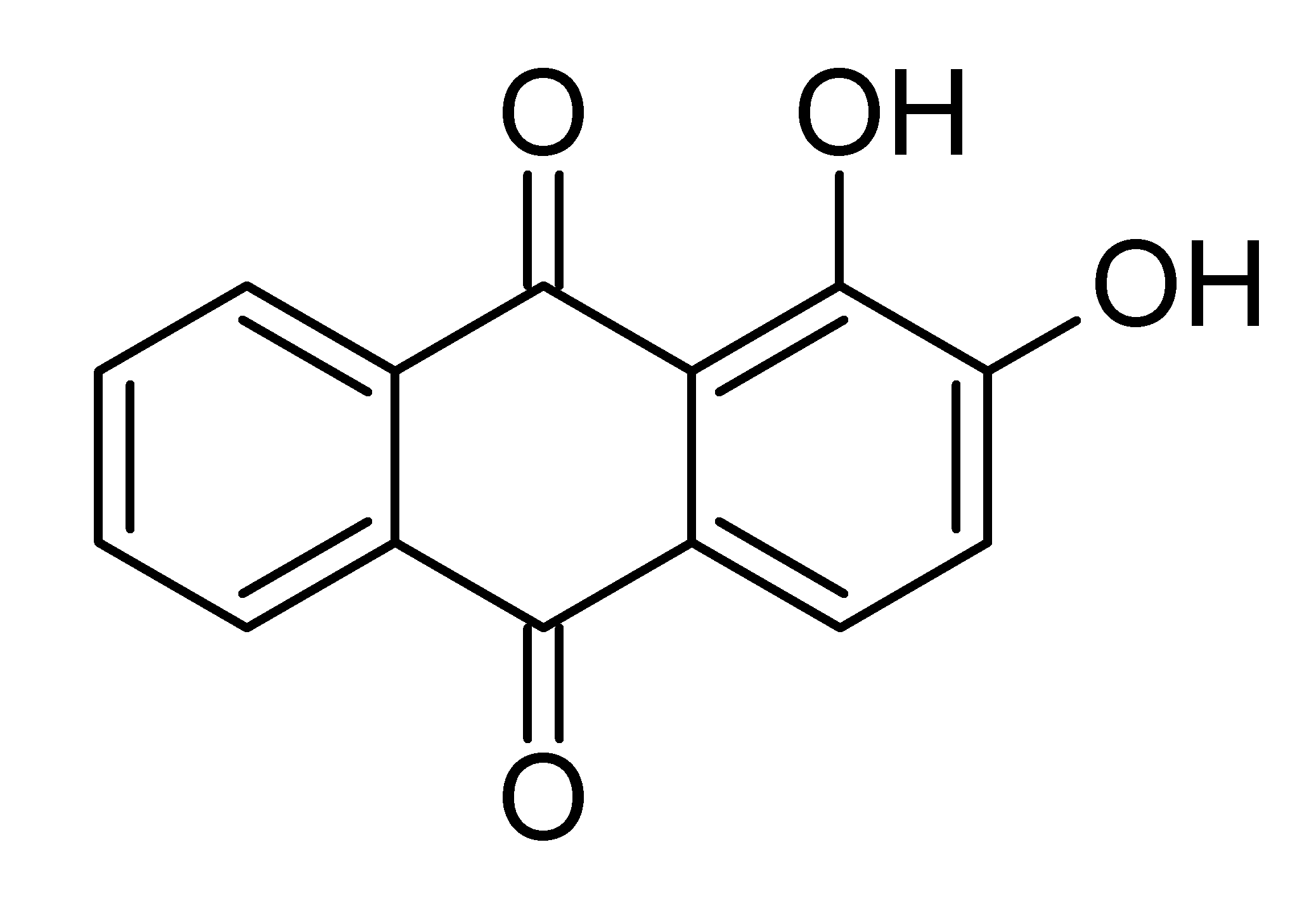 File:Alizarin chemical structure.png - Wikipedia