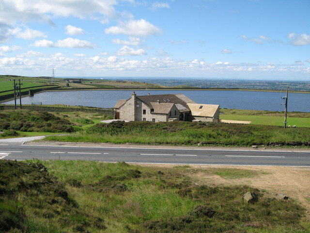 Ashworth Moor Reservoir - geograph.org.uk - 510019