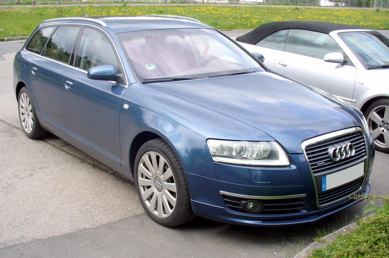 File Audi A6 C6 Avant Jpg Wikimedia Commons