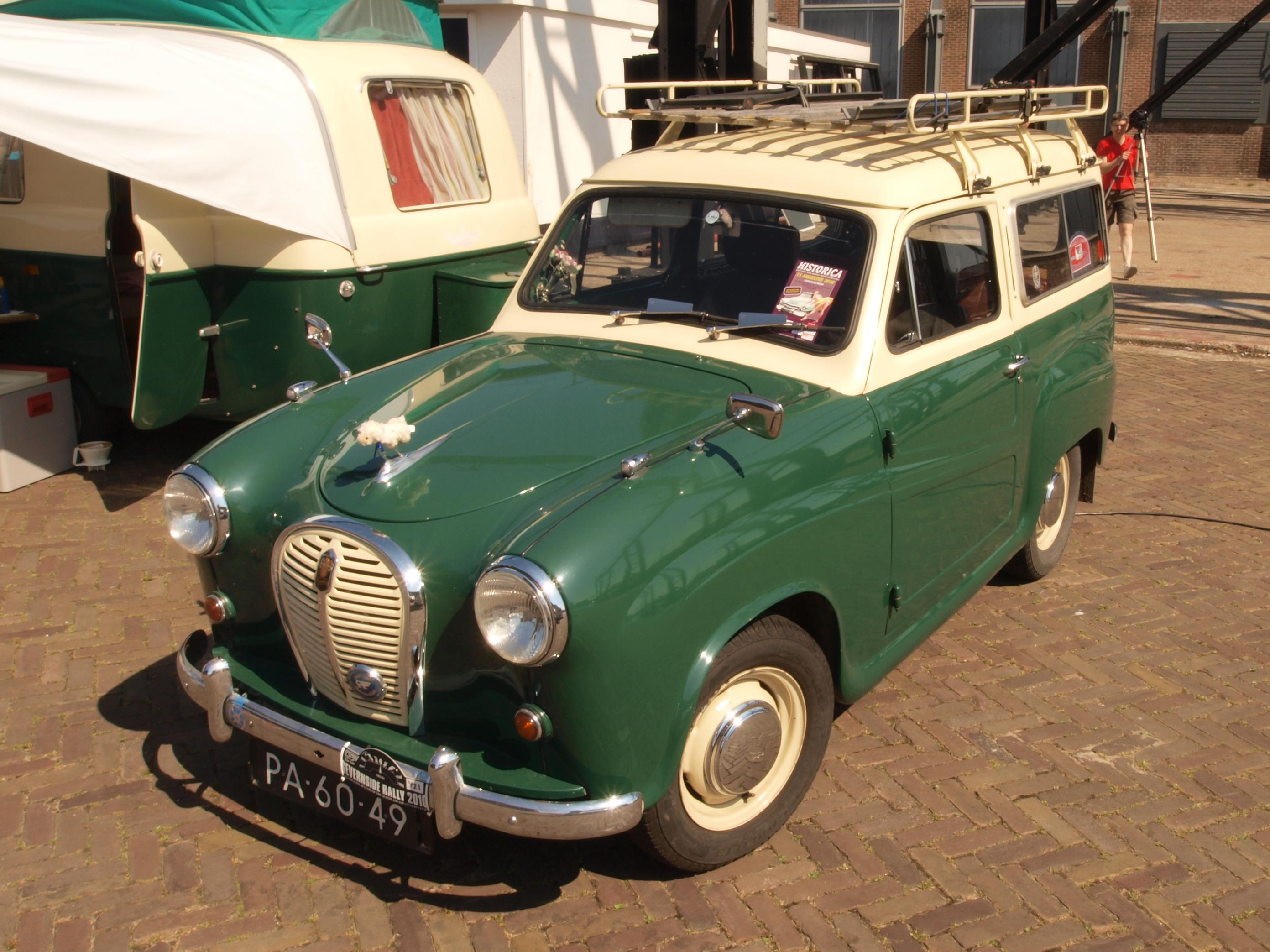 File:Austin A30 (1955), Dutch licence registration PA-60-49 pic3 ...
