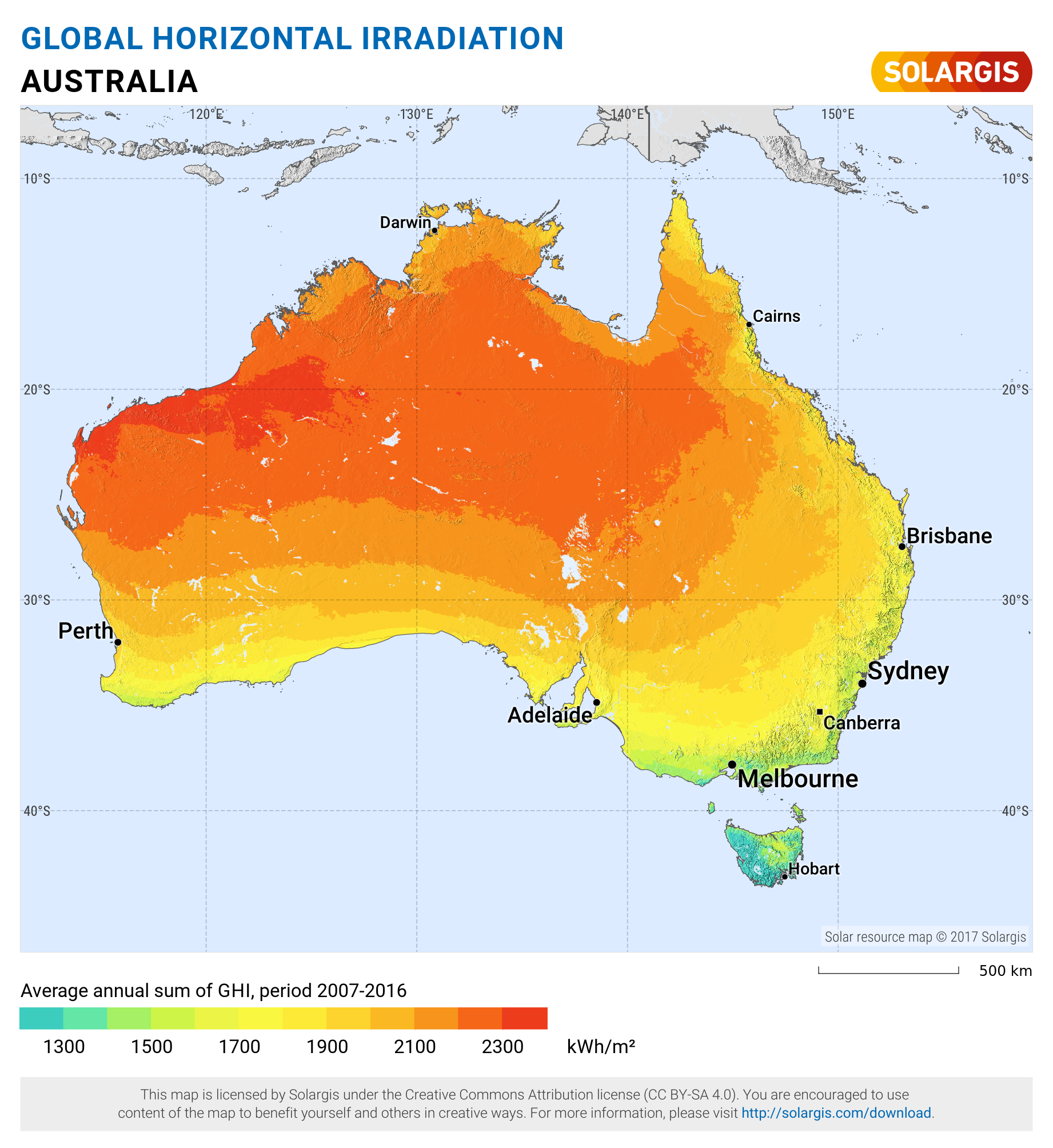 Australia Global Map.File Australia Global Horizontal Irradiance Map Png Wikimedia Commons