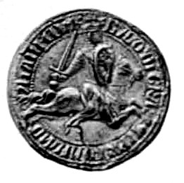 Seal of Baldwin I - Baldwin I of Constantinople