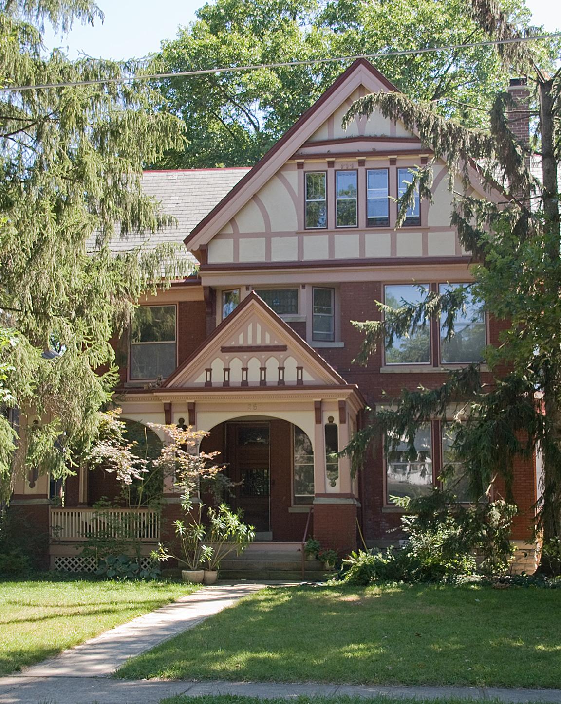 Balch house cincinnati ohio wikipedia for Building a home in ohio