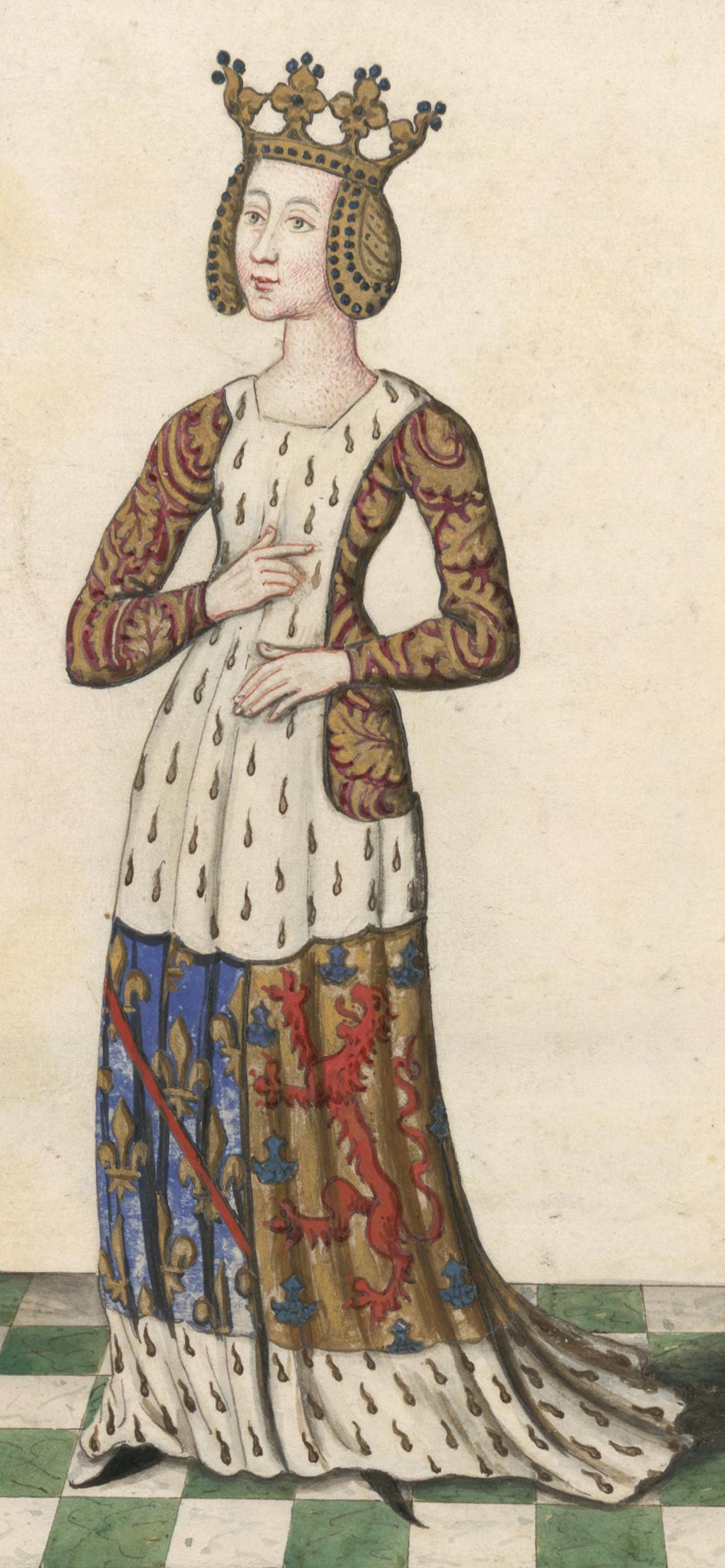 Beatrice of Burgundy, Lady of Bourbon
