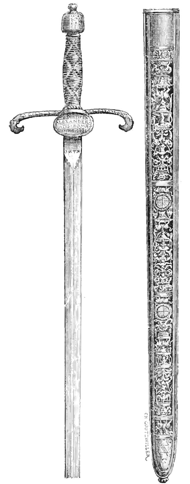 Harpe sword
