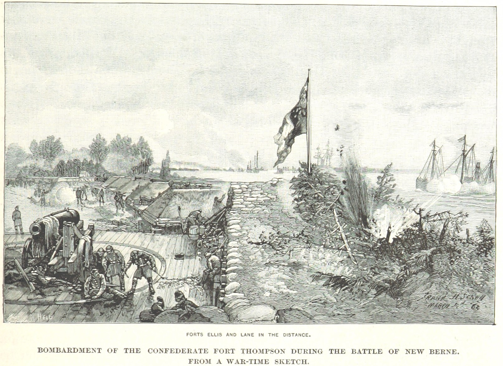Battle of New Bern Image Three