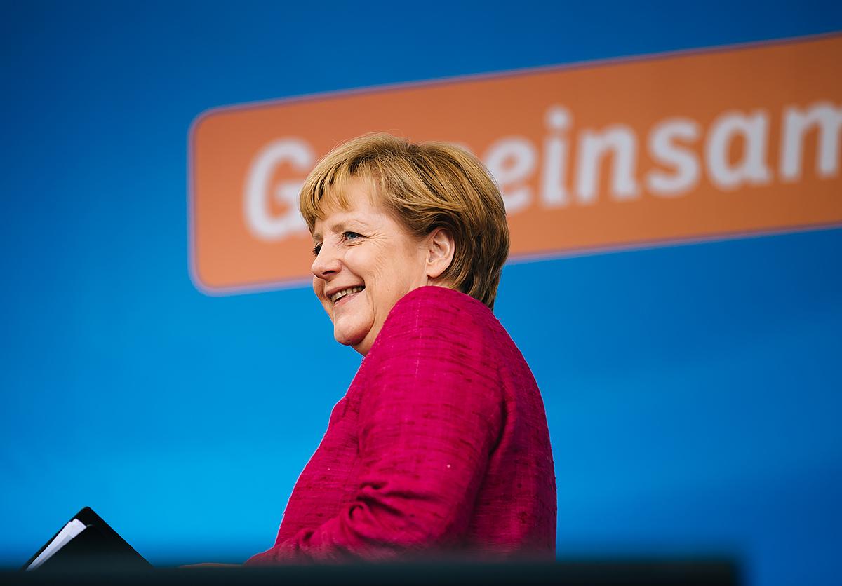 Angela Merkel by Alexander Kurz