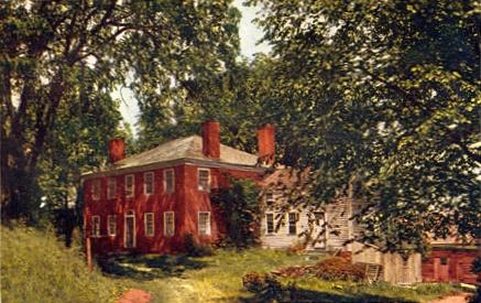 Место рождения Бёрбанка, Ланкастер, штат Массачусетс, США, по изданию 1914 года.