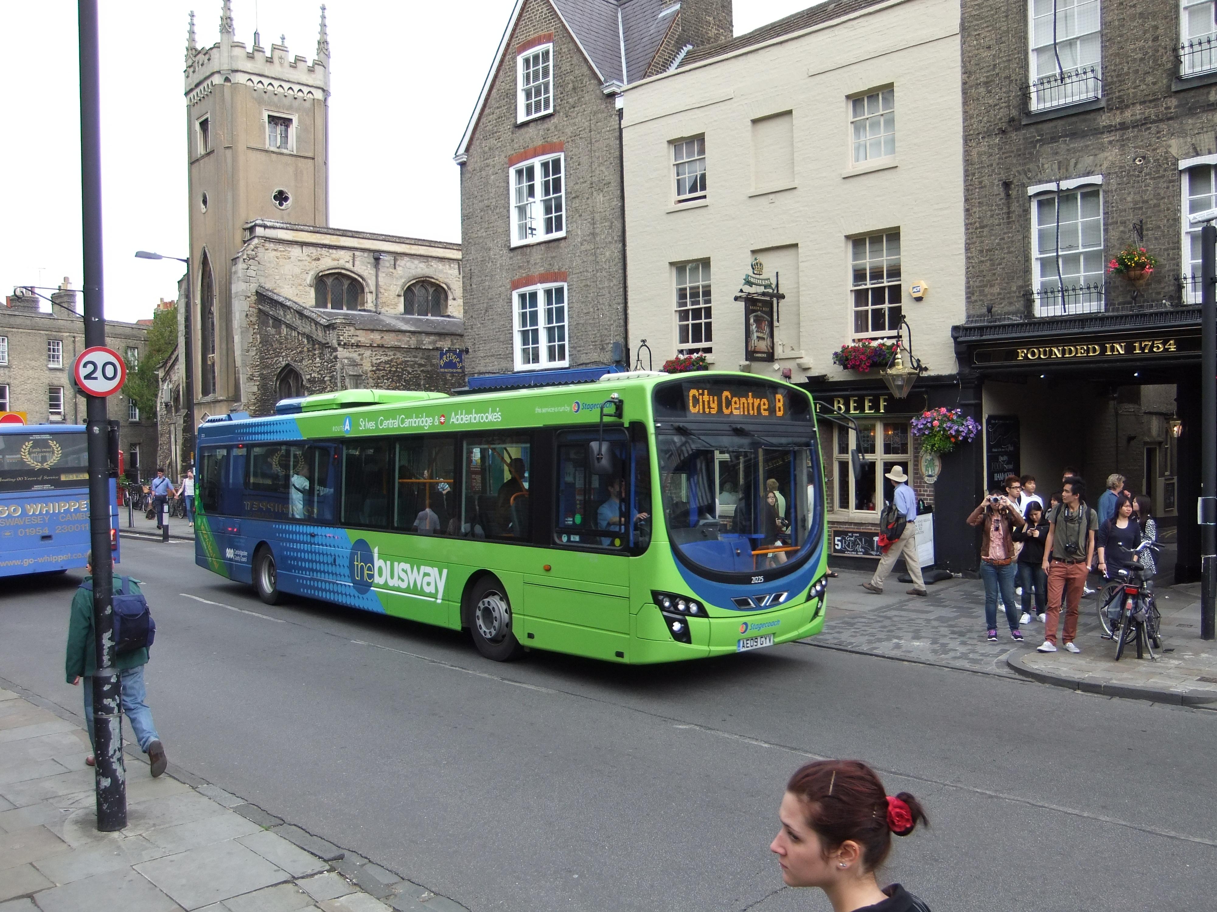 Cambridge Şehir İçi Ulaşım