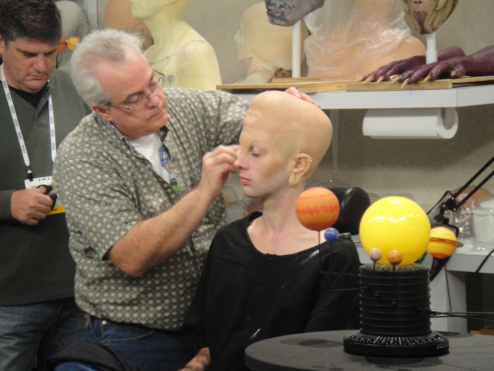 CES 2012 - Sony Men in Black 3 alien makeup demonstration (6937783429).jpg photo 2012 Pop Culture Geek taken by Doug Kline If you're interested in