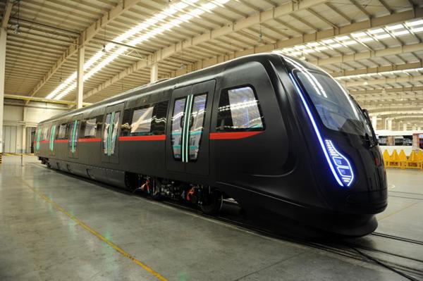 Prototype of the CETREVO CFRP-metro train