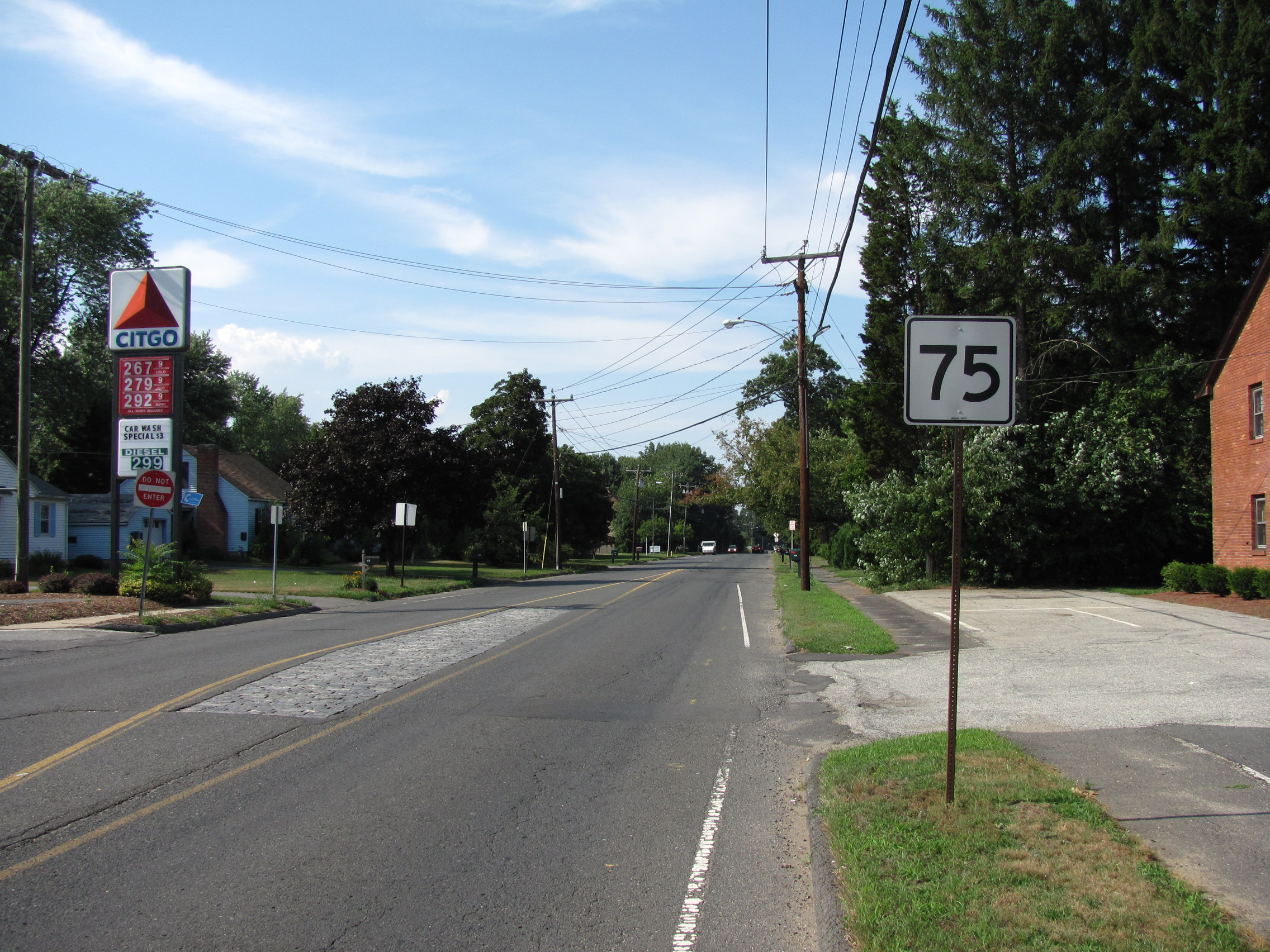 file ct route 75 northbound agawam ma jpg wikimedia commons