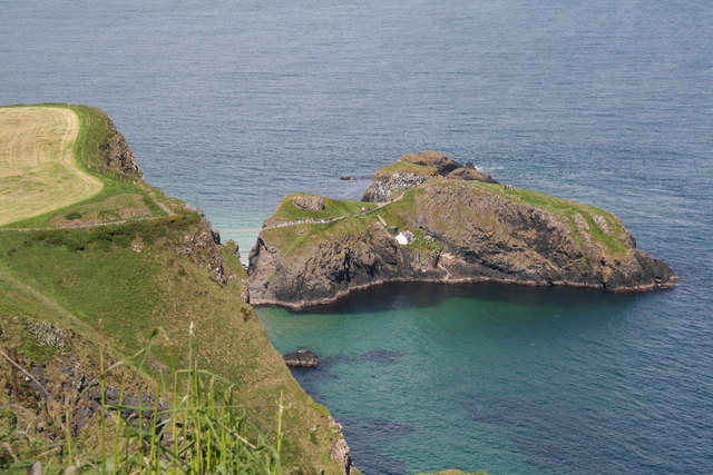 Carrickarade Island - geograph.org.uk - 460295