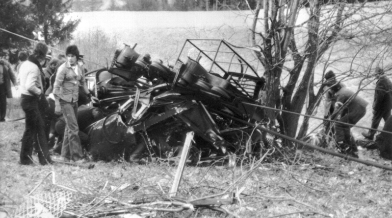 Cavalese cable car disaster (1976) - Wikipedia