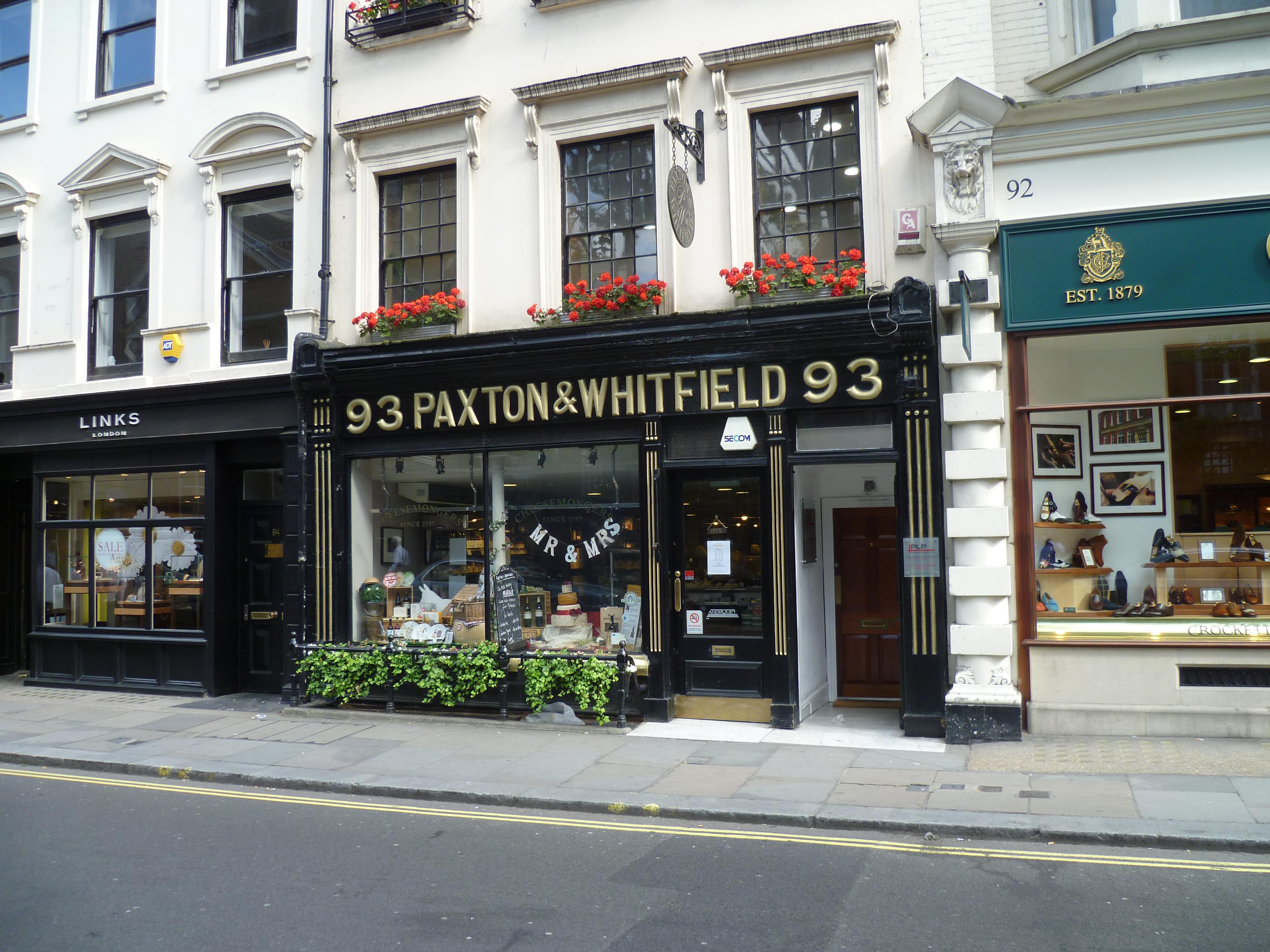 FileCheesemonger Paxton Whitfield On Jermyn Street In London