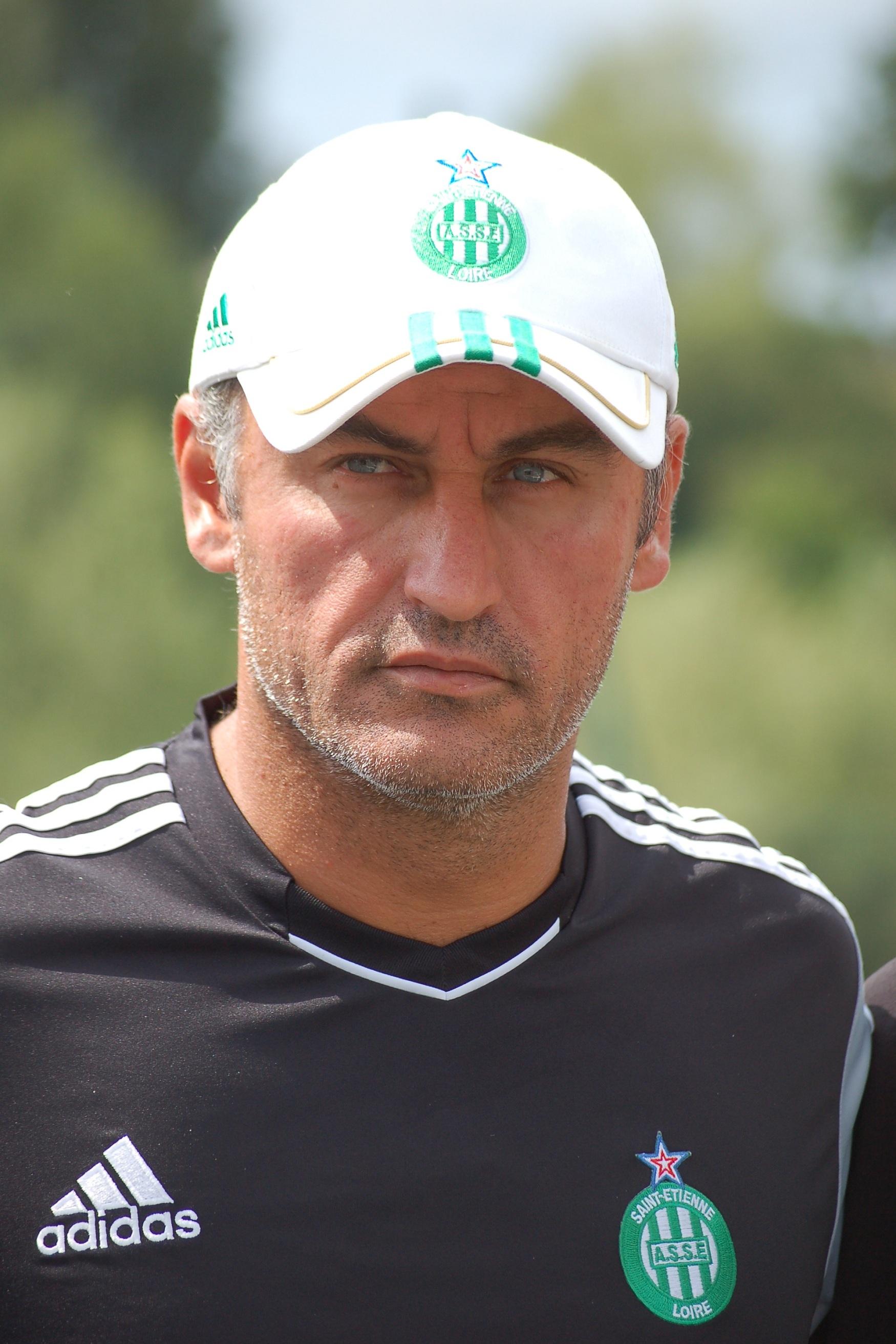 Главный тренер футбольного клуба лилль