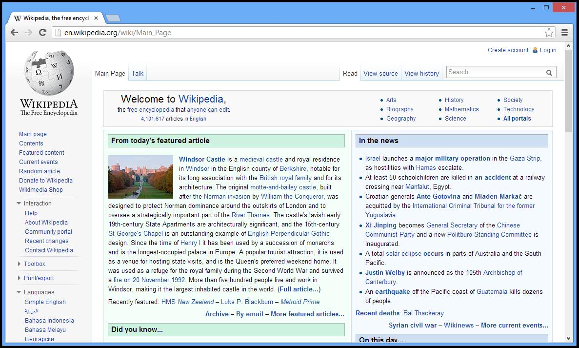 قنبلة Chromium 18.0.975.0 الابن الروحي لـGoogleChrome في آخر اصدار حصريا على المشاغب Chromium_(web_brow