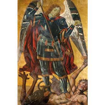 Museo Diocesano Napoli.File Cristoforo Faffeo San Michele Arcangelo Museo Diocesano
