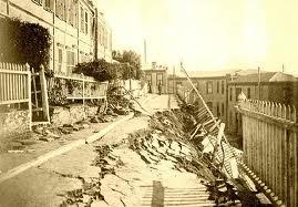 Daños en Paseo Atkinson luego del terremoto de 1906.jpg