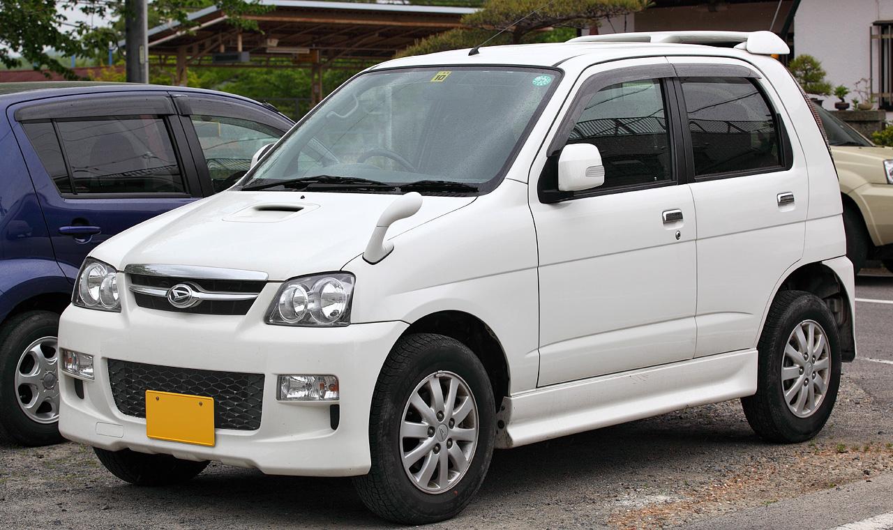 Daihatsu Terios Kid Car Interior Design