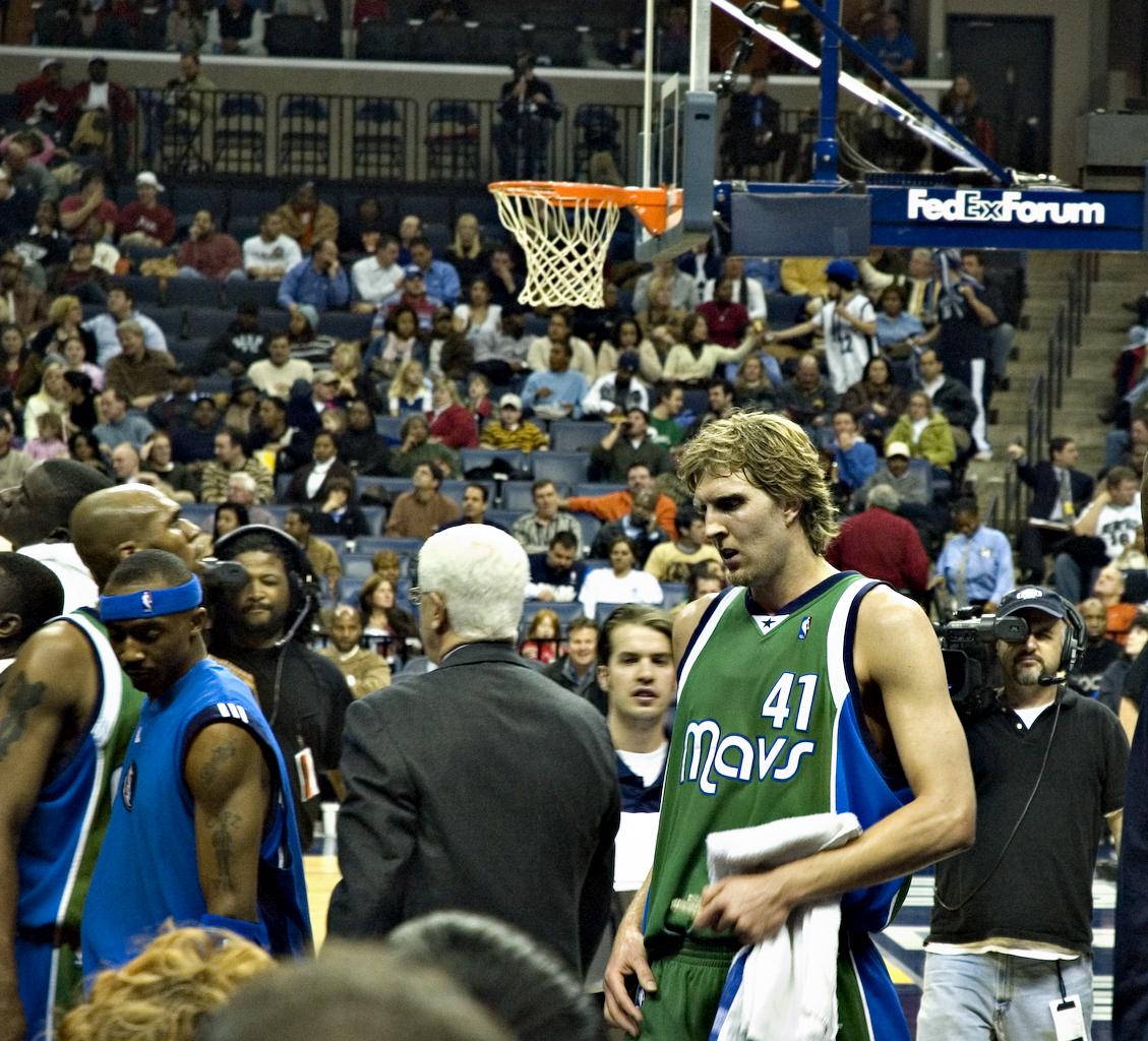 Dirk Nowitzki Mavericks