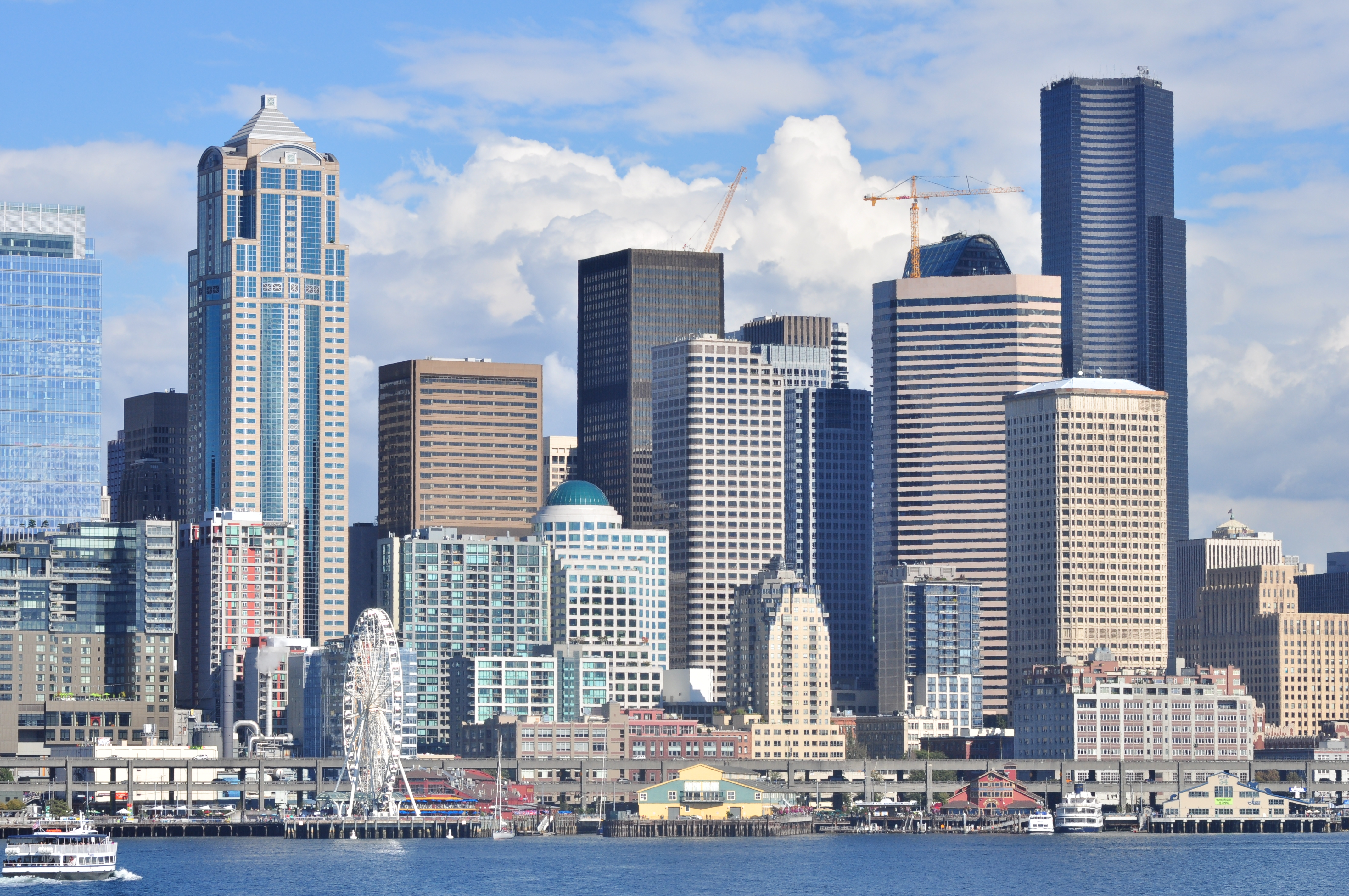 File:Downtown Seattle skyline from Elliott Bay 01.jpg - Wikimedia ...