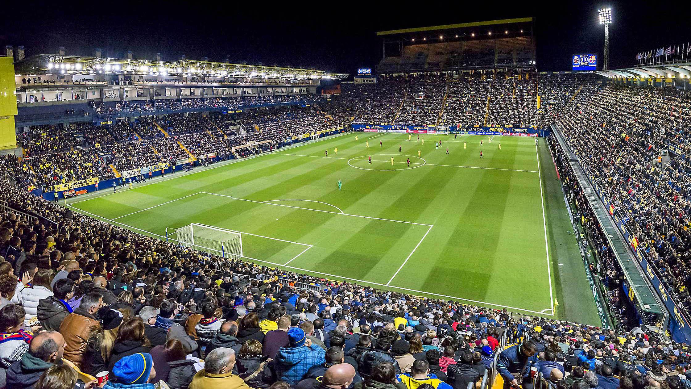 Estadio De La Ceramica Wikipedia La Enciclopedia Libre
