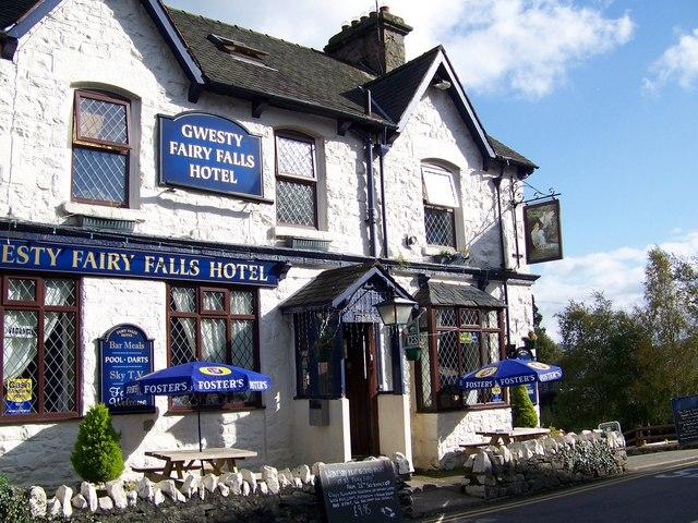 Fairy Falls Hotel, Trefriw - geograph.org.uk - 1007736