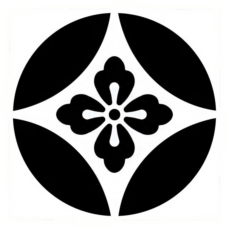 Japanese Lighting File Family Crest Hanawachigai Png Wikimedia Commons