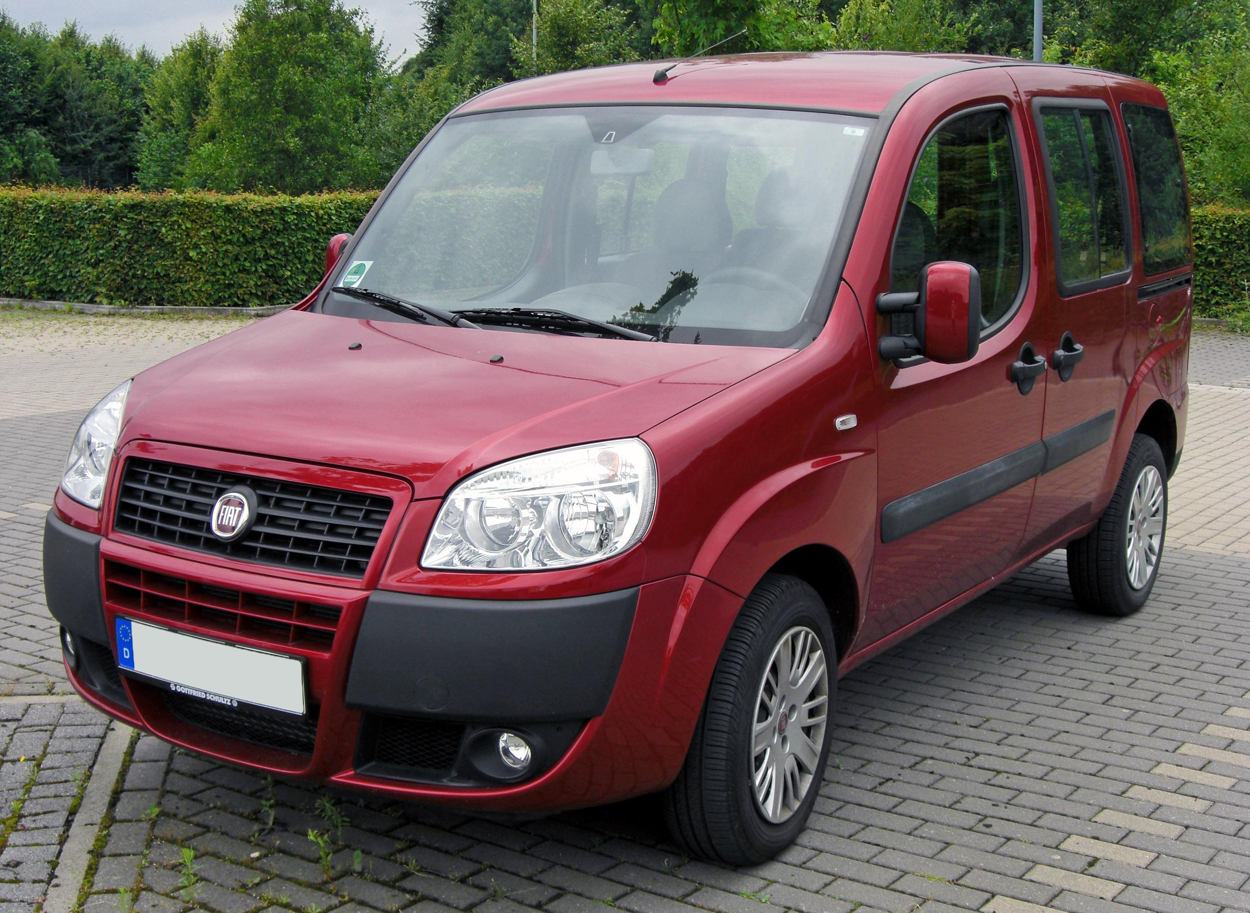 file fiat doblo facelift 20090712 front jpg wikimedia commons. Black Bedroom Furniture Sets. Home Design Ideas