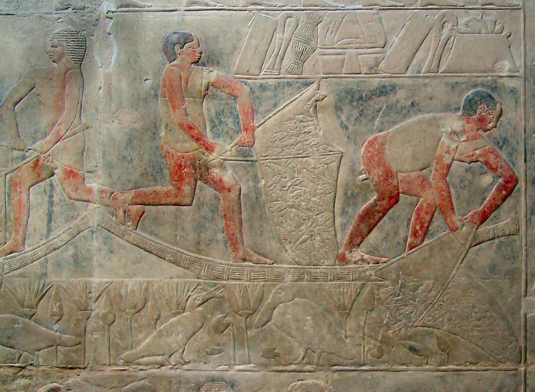 http://upload.wikimedia.org/wikipedia/commons/1/13/Fishermen_in_Mereruka%E2%80%99s_tomb_%28Kairoinfo4u%29.jpg