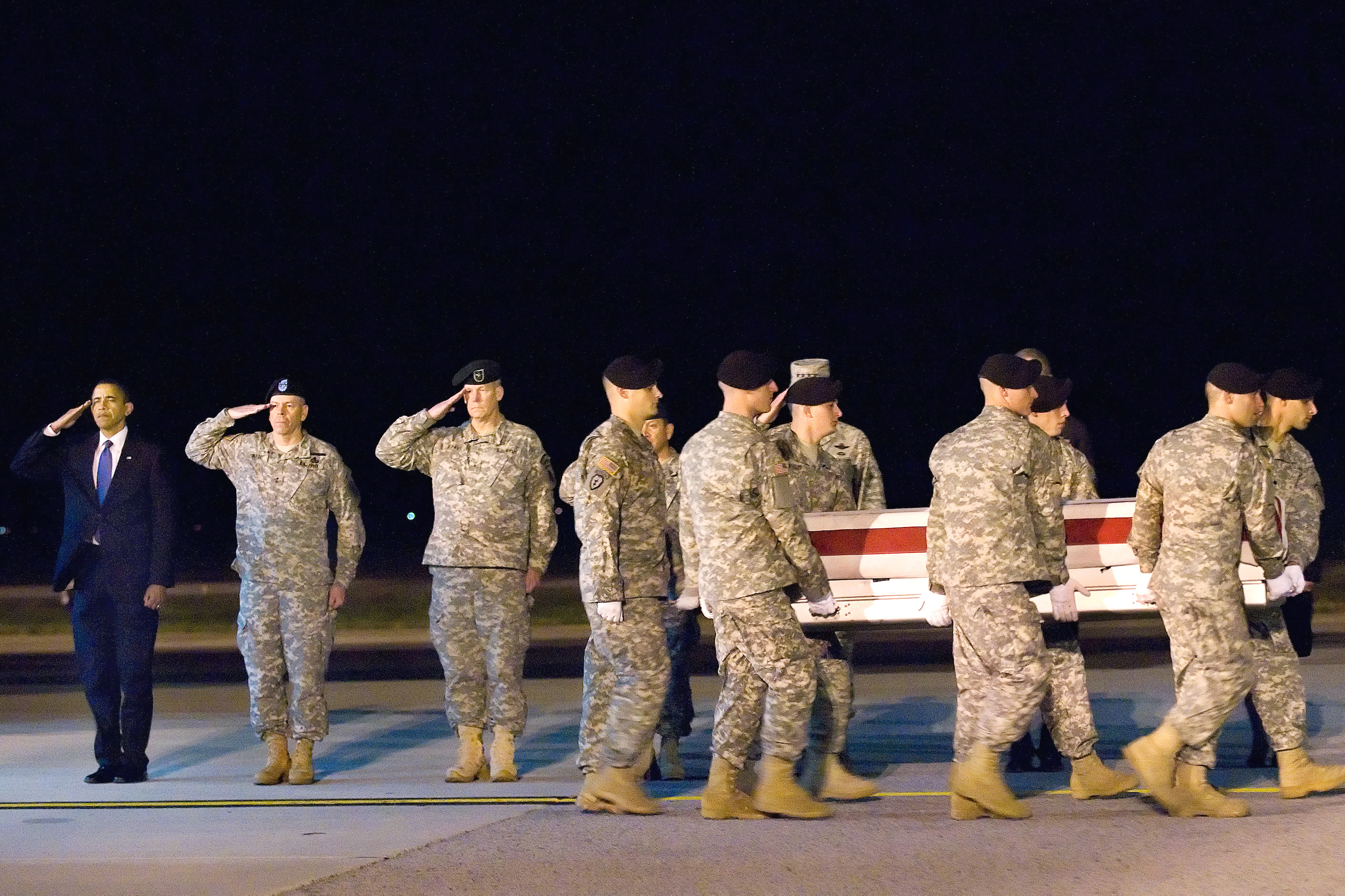 Military Pay Chart 2010: Flickr - The U.S. Army - Rendering honors at Dover AFB.jpg ,Chart