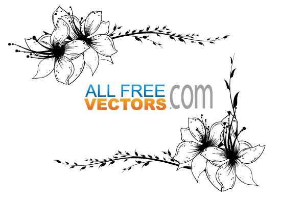 File Floral Frame Clipart Vector Jpg Wikimedia Commons