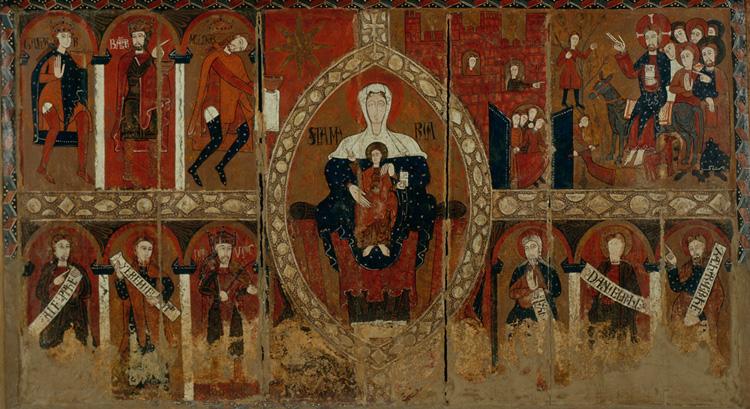 File:Frontal d'altar de Sant Vicenç d'Espinelves.jpg